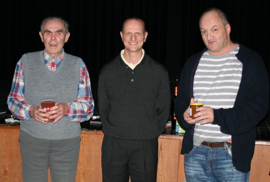 Franz Tolnai, Ralph Schürer und Bruno Saxer