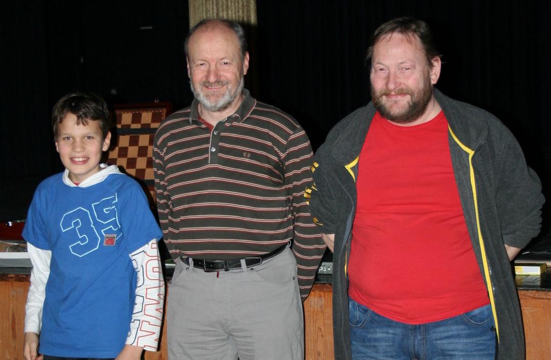 Jan Ade, Gilles Caillet und Robert Hutter